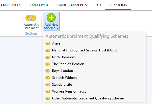 Employer pension scheme setting it up in brightpay brightpay for the purposes of this guide we will use a nest scheme as an example for guidance purposes spiritdancerdesigns Gallery