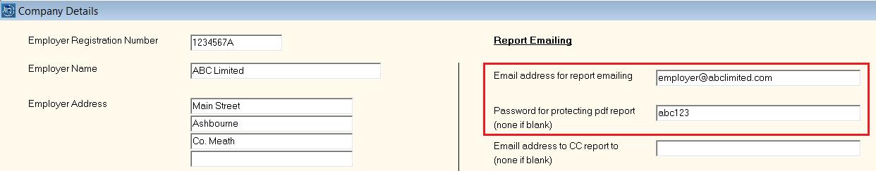 Emailing payslips - Documentation - Thesaurus Payroll