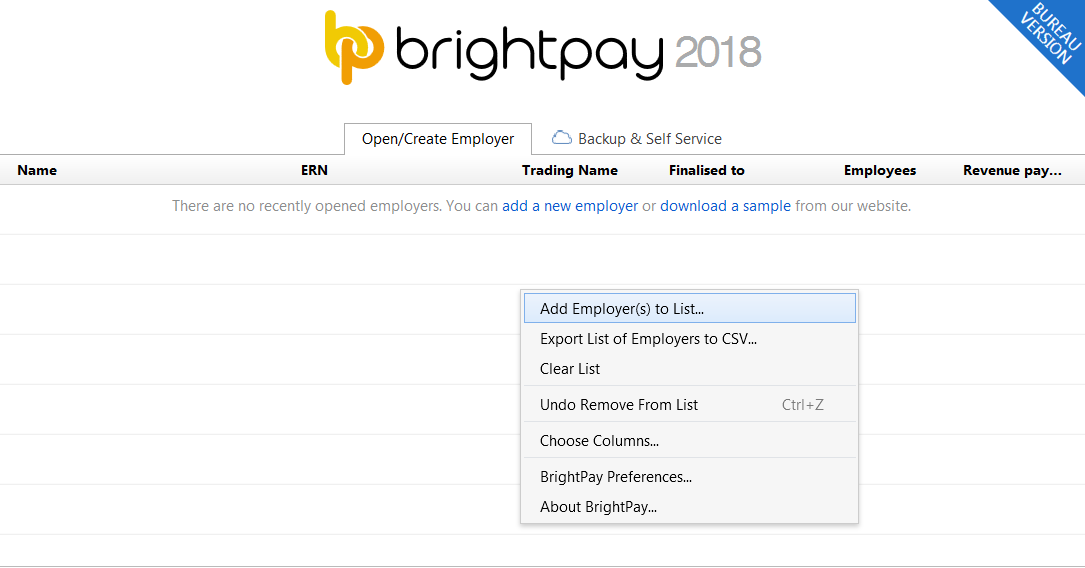 Setting Up BrightPay for Multiple Users - BrightPay Documentation
