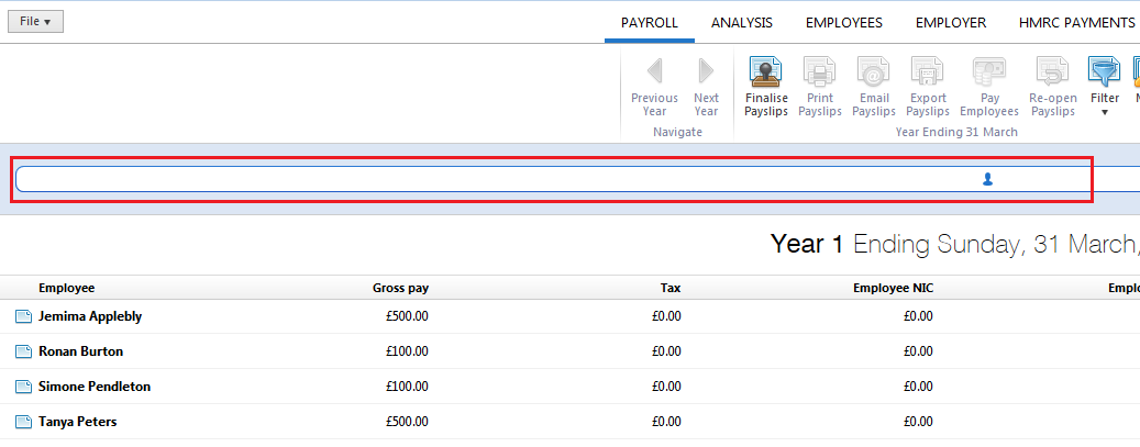 Annual/Yearly Payroll - BrightPay Documentation