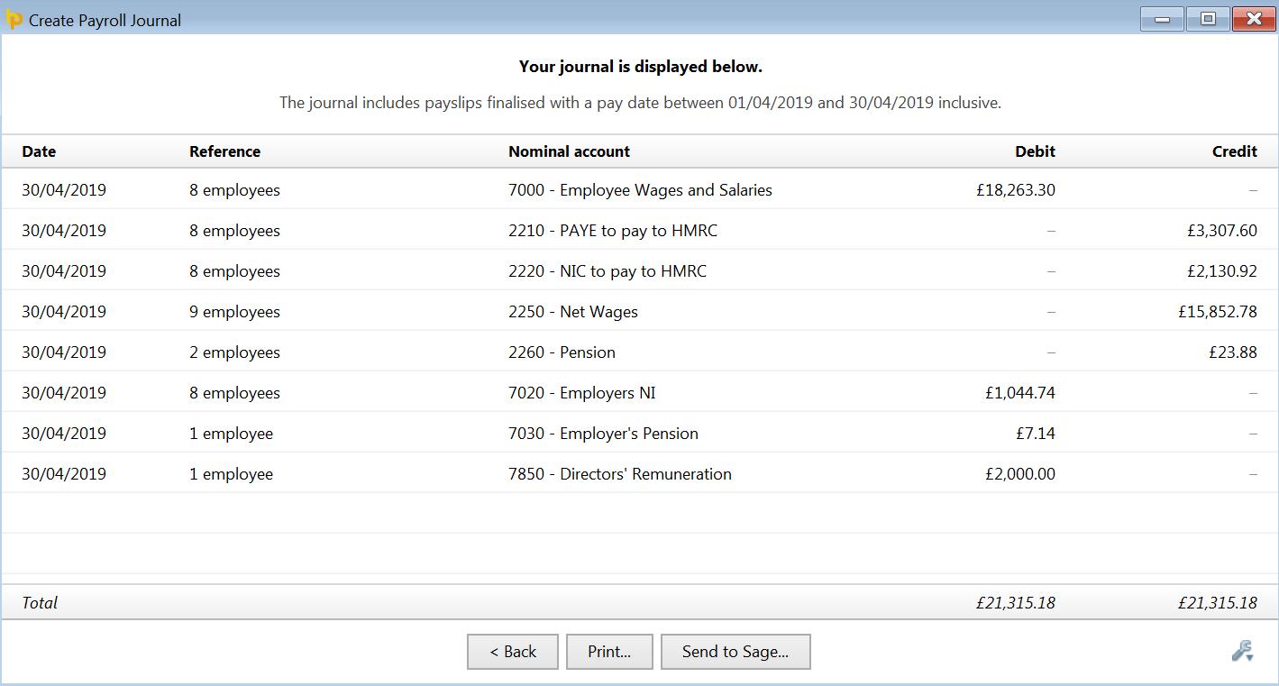 Sage One - using API - BrightPay Documentation