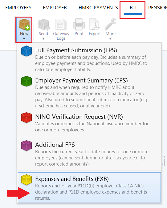 Expenses Benefits End Of Year Brightpay Documentation