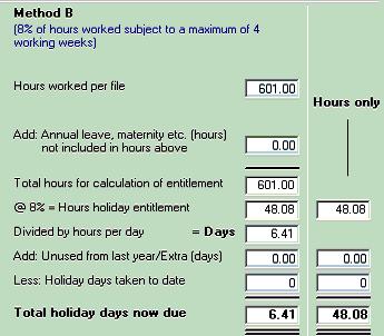 employment calculator